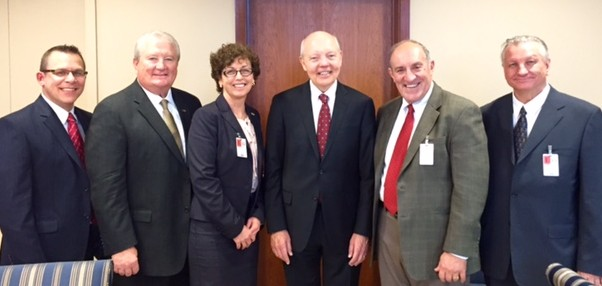 NSA Officers meet with IRS Commissioner Koskinen