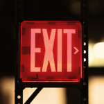 exit sign longer image