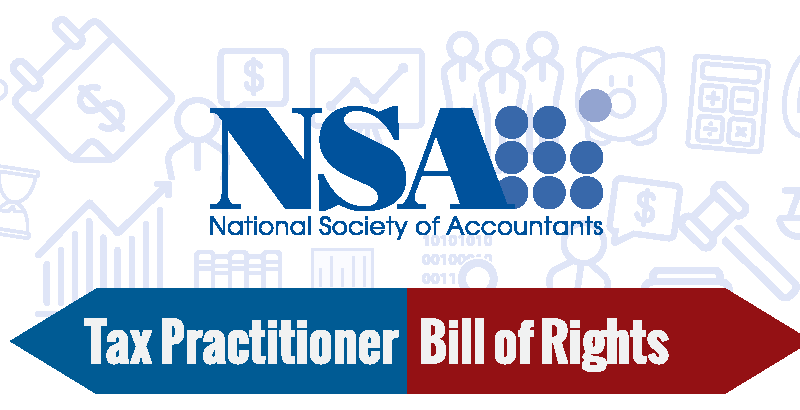 NSA tax practitioner bill of rights image