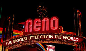 Reno Nevada sign