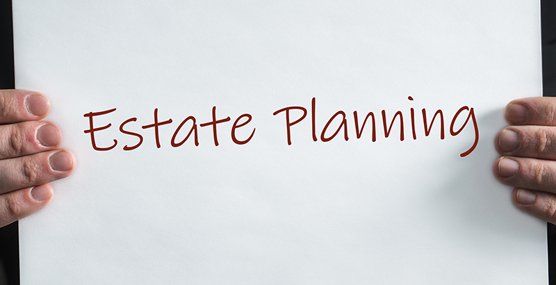 estate planning sign